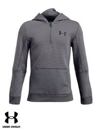 Junior Under Armour 'Threadborne Ridge' Hooded Sweatshirt (1299355-040) x5: £14.95